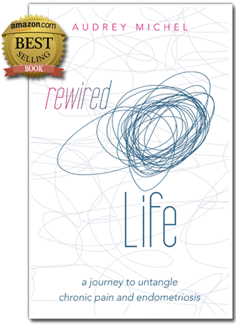 Amazon Best Selling Book Rewired Life, chronic pain, endometriosis