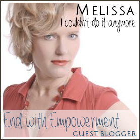 End with Empowerment, EndoSister Melissa Turner, Endo Angel, Rewired Life