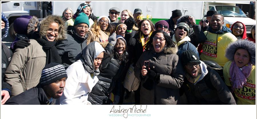 Million Women March for Endometriosis, EndoMarch 2014, Washington DC, Stephanie March, Dr. Farr Nezhat