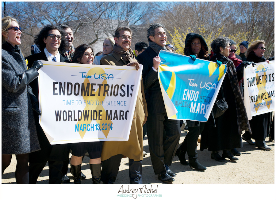 Inaugural Million Women March for Endometriosis