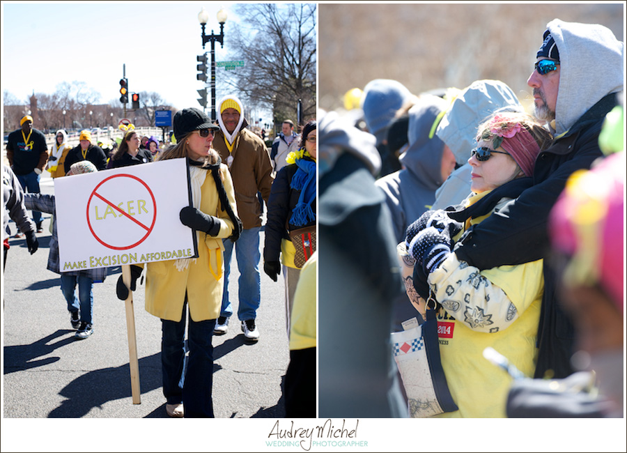 Million Women March for Endometriosis, EndoMarch 2014, Washington DC