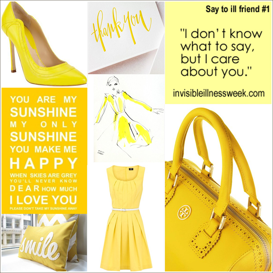 endosister, wear yellow, endometriosis awareness month