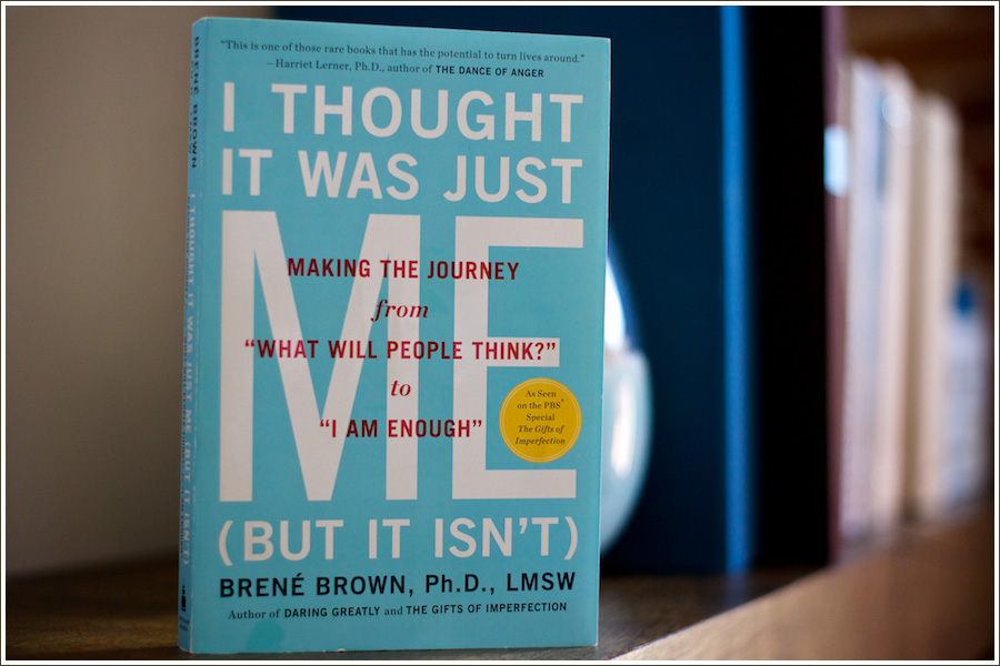 Book Review | I Thought It Was Just Me by Brene Brown