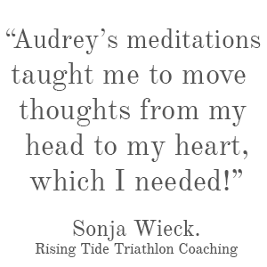 Mindful Meditations, testimonial, spiritual growth coach