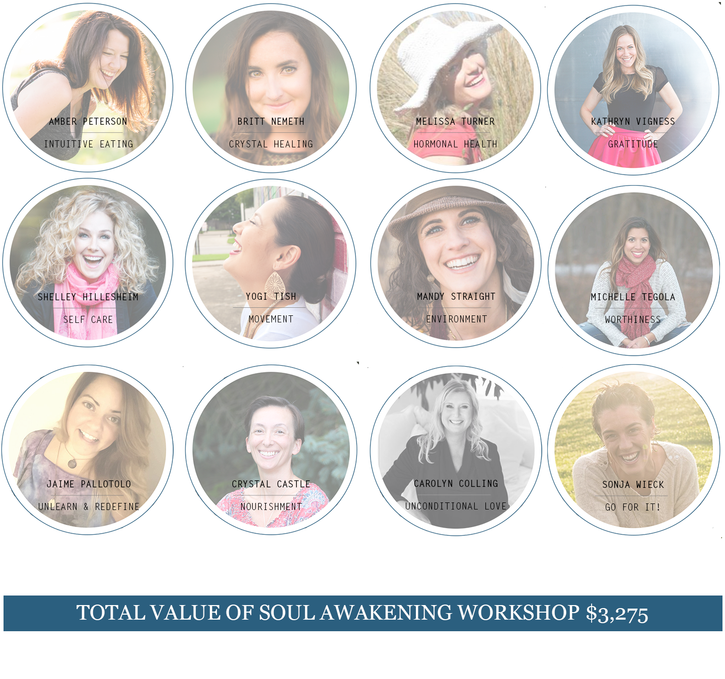 Soul Awakening Master Class. How to Rewire YOUR Life. Guest Experts.